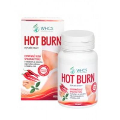 WHCS Hot Burn přírodní spalovač tuků - 60 tablet