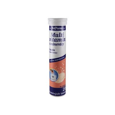 MedPharma Multivitamin s minerály + lutein, šumivé tbl....