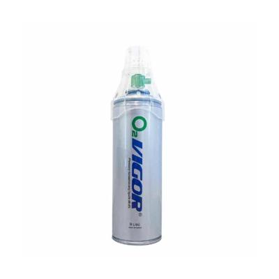 Vigor O2 inhalačný kyslík v plechovke 8 l
