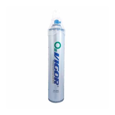 Vigor O2 inhalačný kyslík v plechovke 12 l