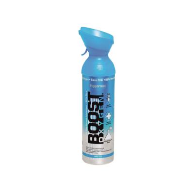 BOOST Oxygen Peppermint inhalačný kyslík v plechovke 5 l