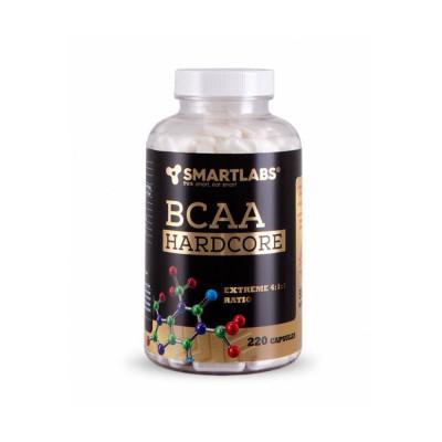 Smartlabs BCAA Hardcore 4:1:1 220 kapsulí